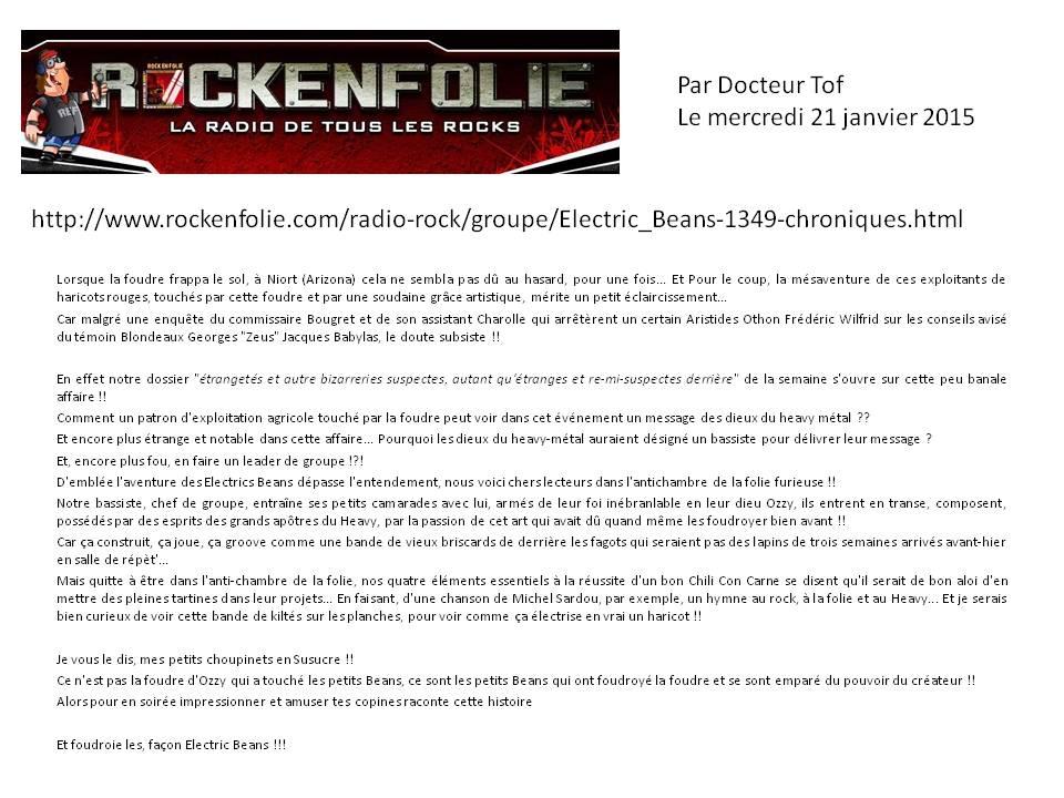 chronique Rockenfolie